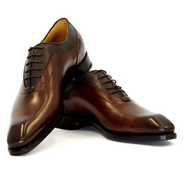 Brown men's shoes