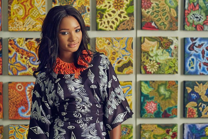Temi Otedola best adire designs looks
