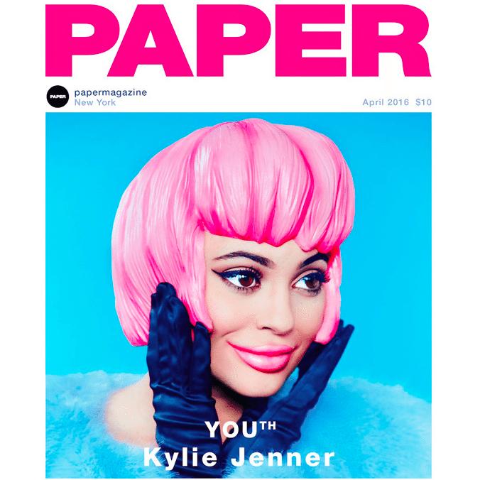 Kylie Jenner Interview IG DM Paper PaperMag