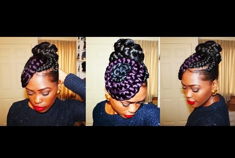 How to do braided buns