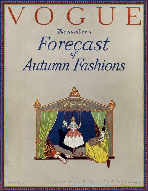 First Issue of British Vogue 100 Anniversary