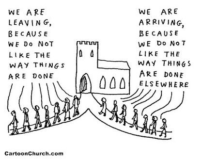 cartoon-church-departures-and-arrivals-dave-walker