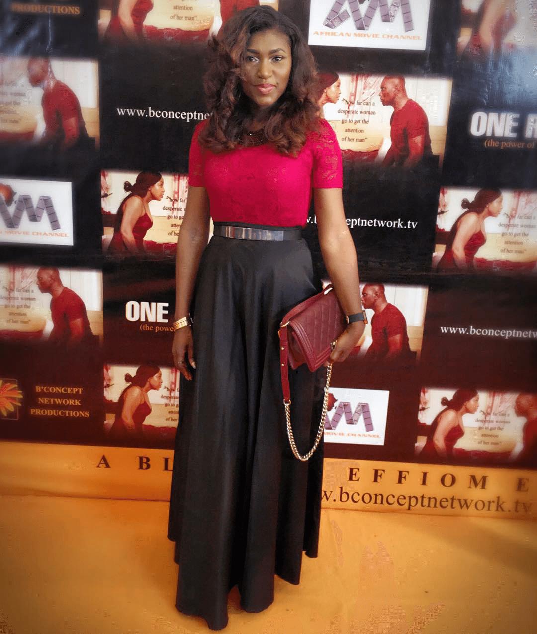 Ufuoma Mcdermott one room nollywood movie