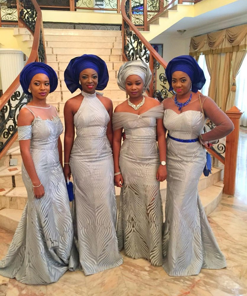 Davidos-sister-Coco-Adeleke-and-Caleb-Adaji-Traditional-Wedding_2