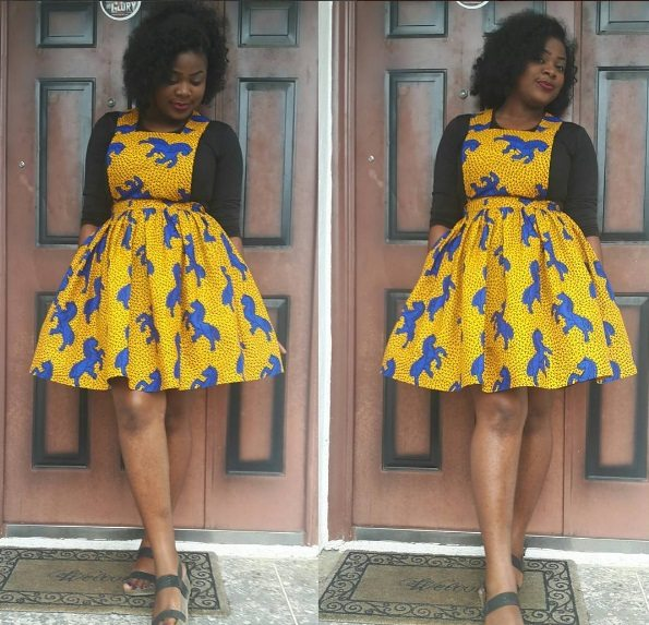 Latest Ankara Styles How To Rock The Ankara Pinafore Look Rave