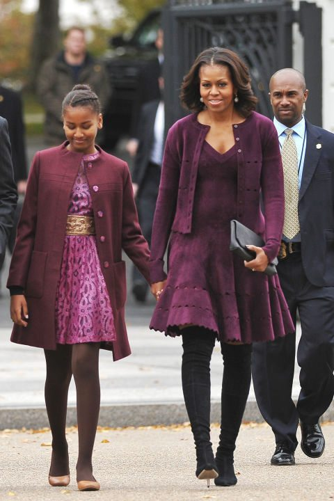 Michelle Obama in Alaia
