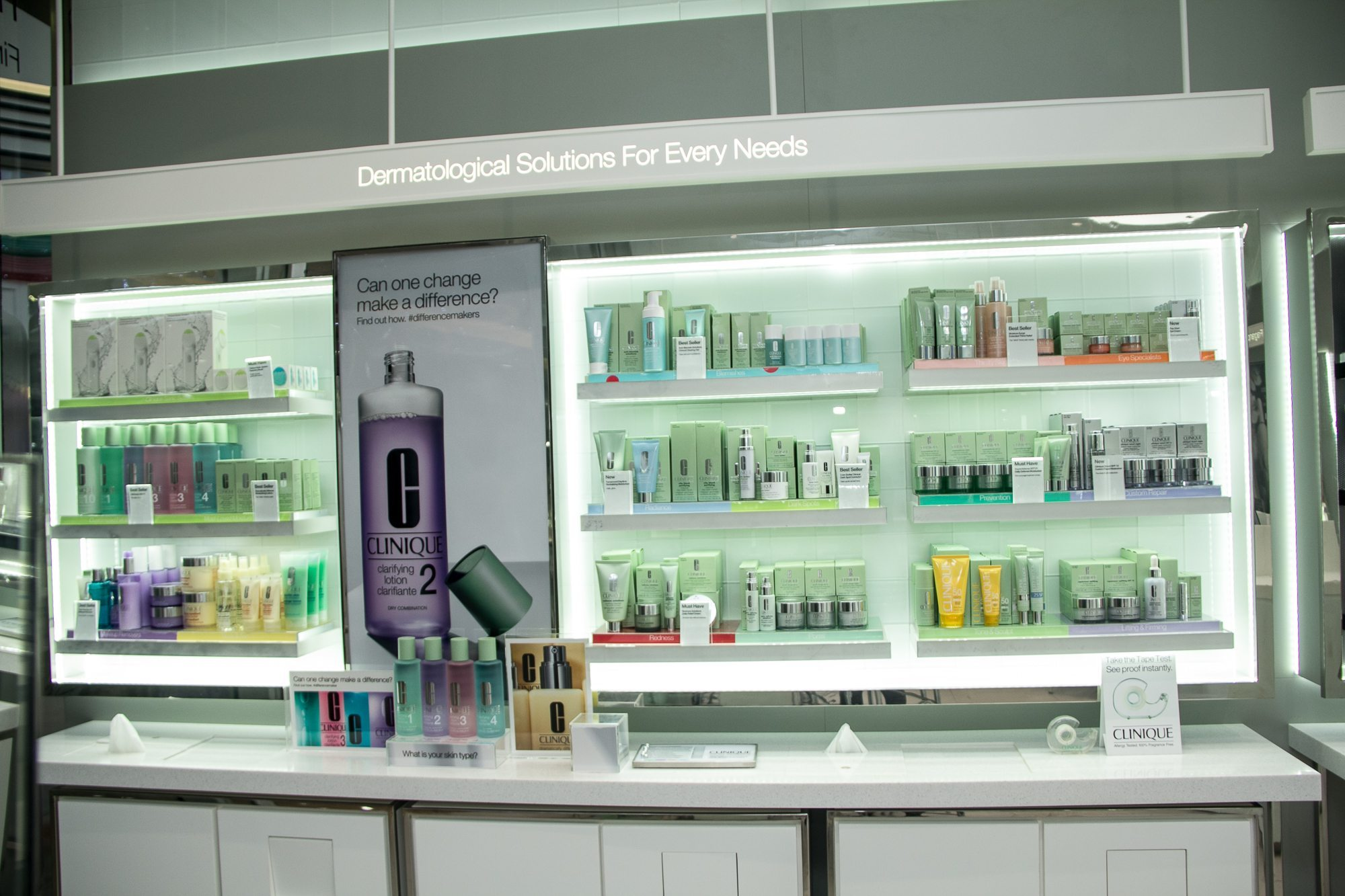 Clinique store