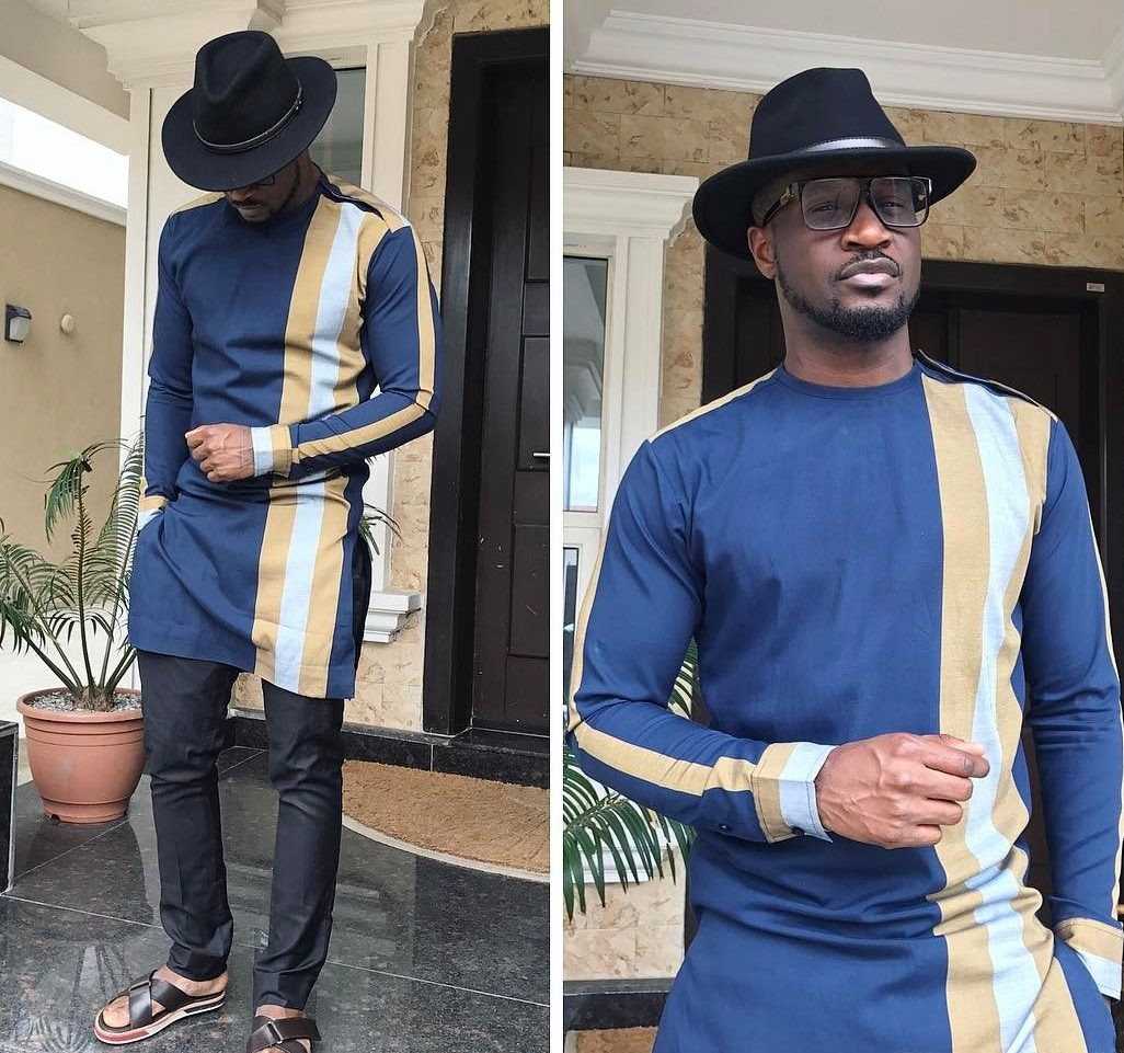 Peter Okoye Banky W Jidenna Lolu Others Flaunt Latest Nigerian Native Styles For Men Easter Lookbook Style Rave