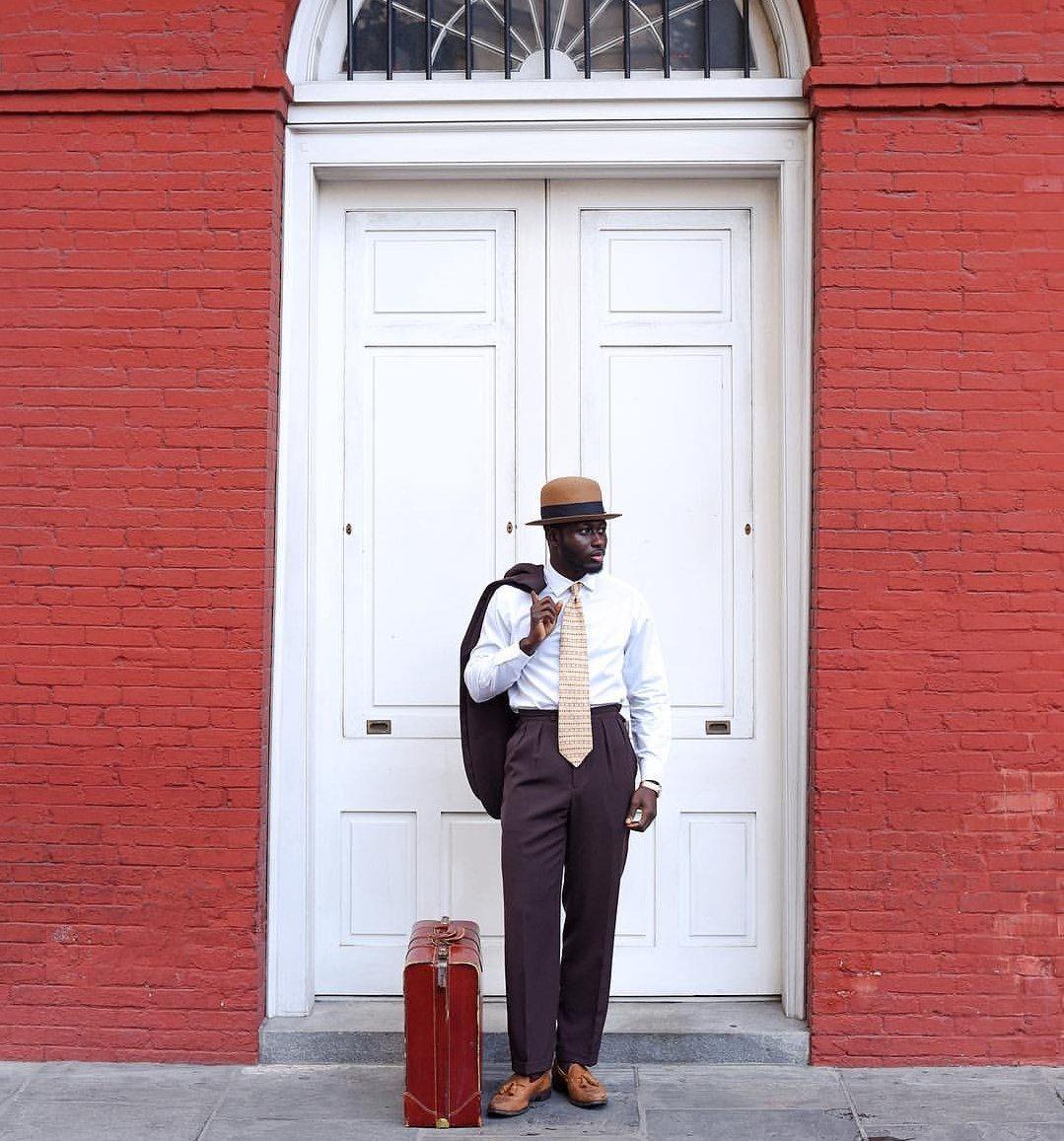 New York menswear blogger