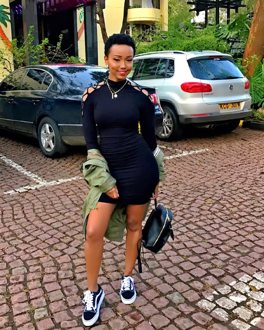 Check Out Kenyan Socialite Huddah Monroe Serving Sultry Style The True Boss Chick Way Style Rave