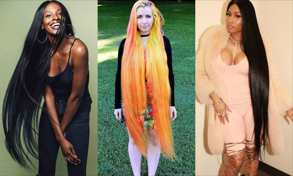 More Hair Please See How Nicki Minaj Dabota Lawson Cardi B And