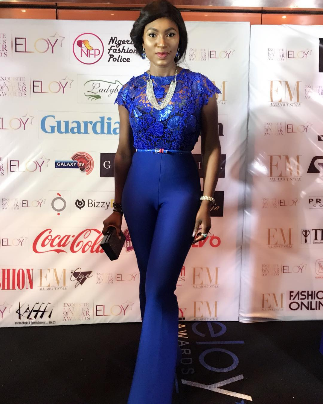 Ufuoma McDermott at Eloy Awards 2017