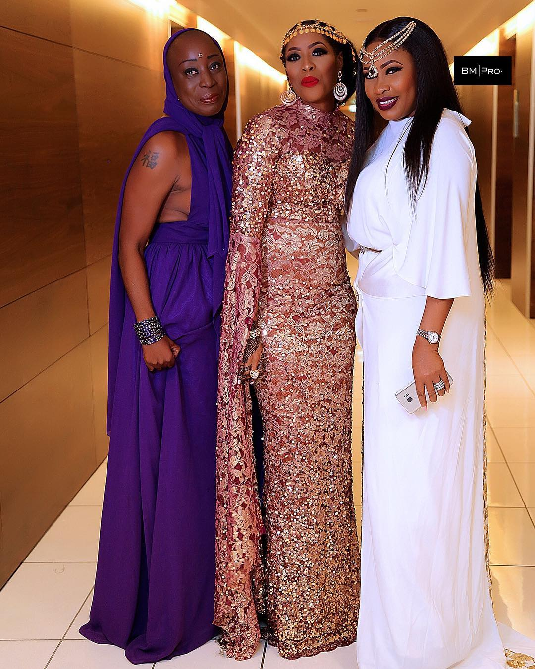 See Omosexy Dance To Kiss Daniel and Rossie At Her Birthday