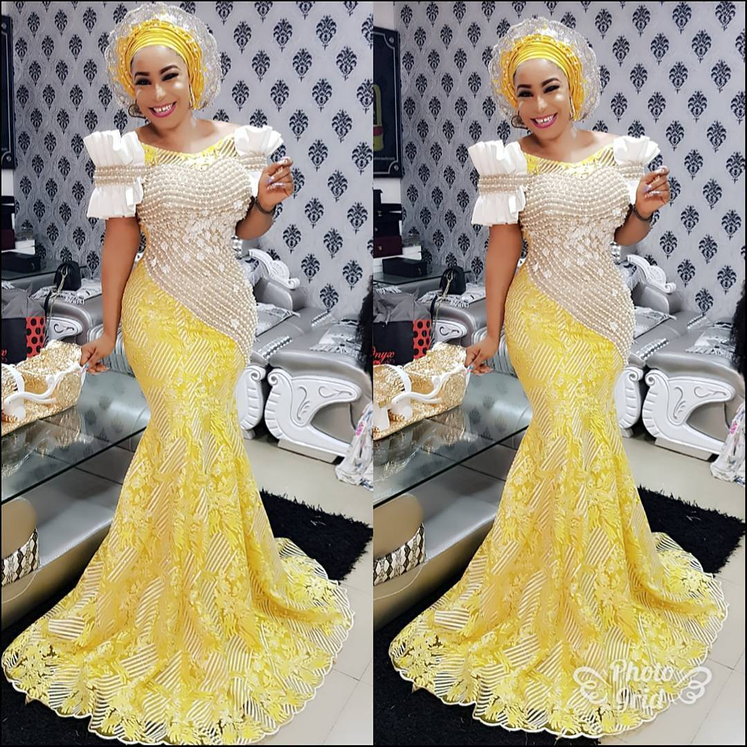 Fashion Meets Art With These Latest Aso Ebi Designs