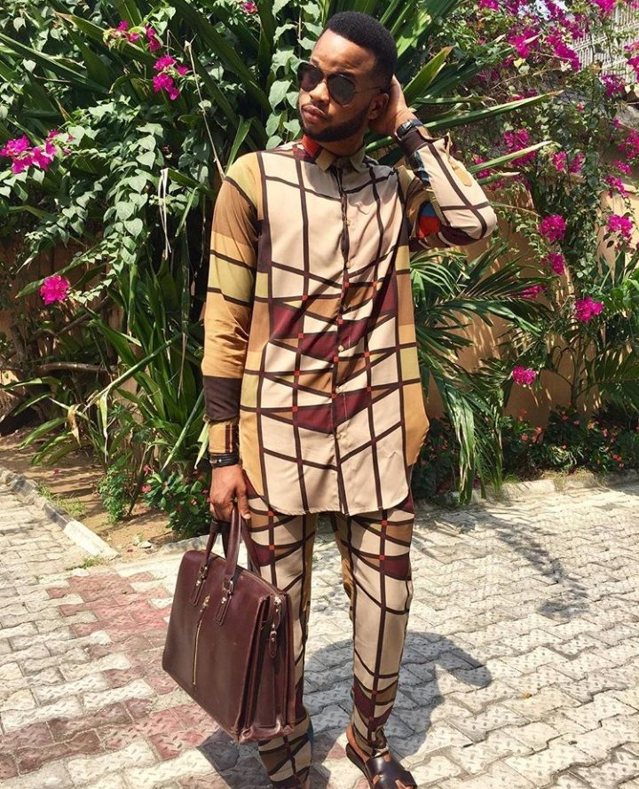 Nigerian Male Traditional Outfit Style Inspiration, Papa Omisore, People of Color Nigerian Clothing Brand