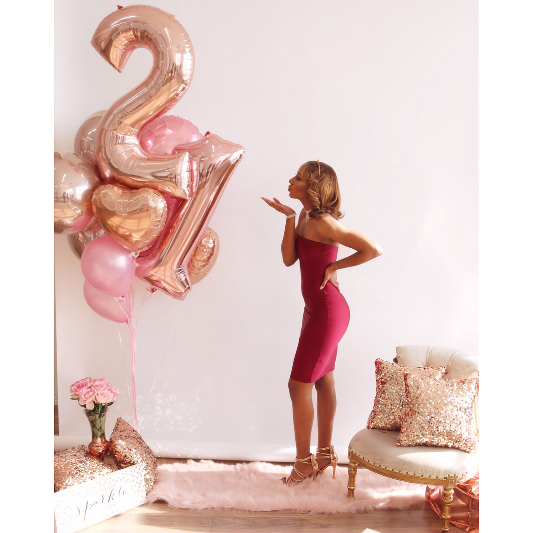 21 And Loving It! BRIELLE WARE Is Elegant And Chic In Her
