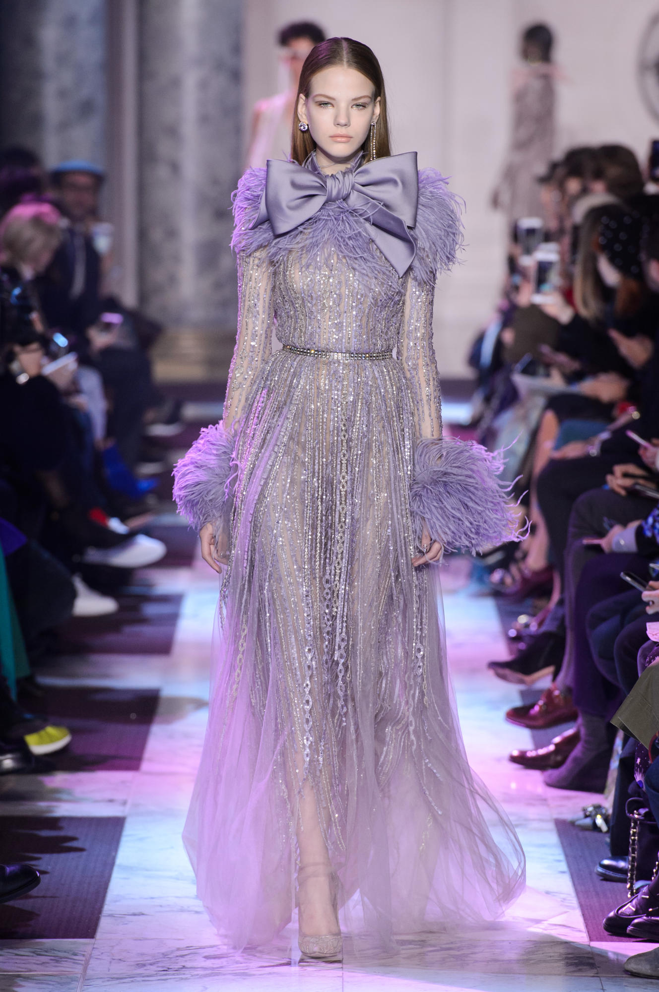 Elie saab spring summer 2018 haute couture collection is for 1920 s haute couture