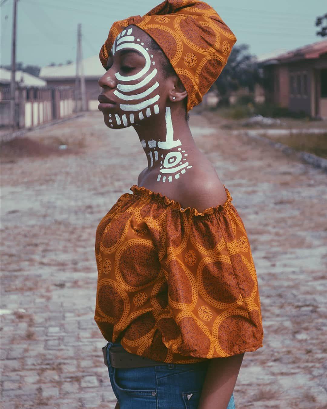 black art style rave