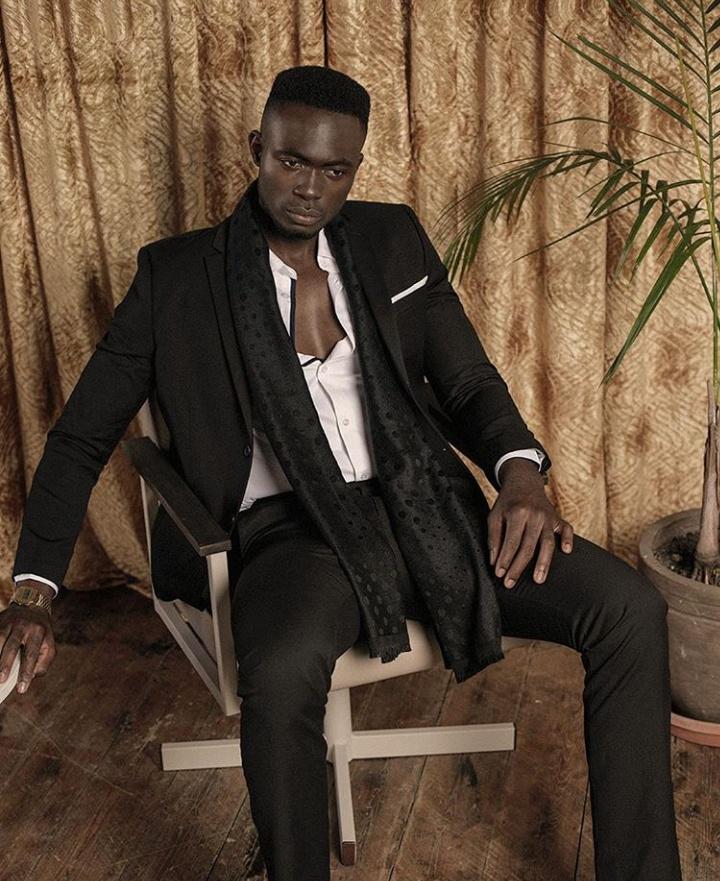Ikwen Akomaye, Nigerian Male Models. Kenyan Male Models