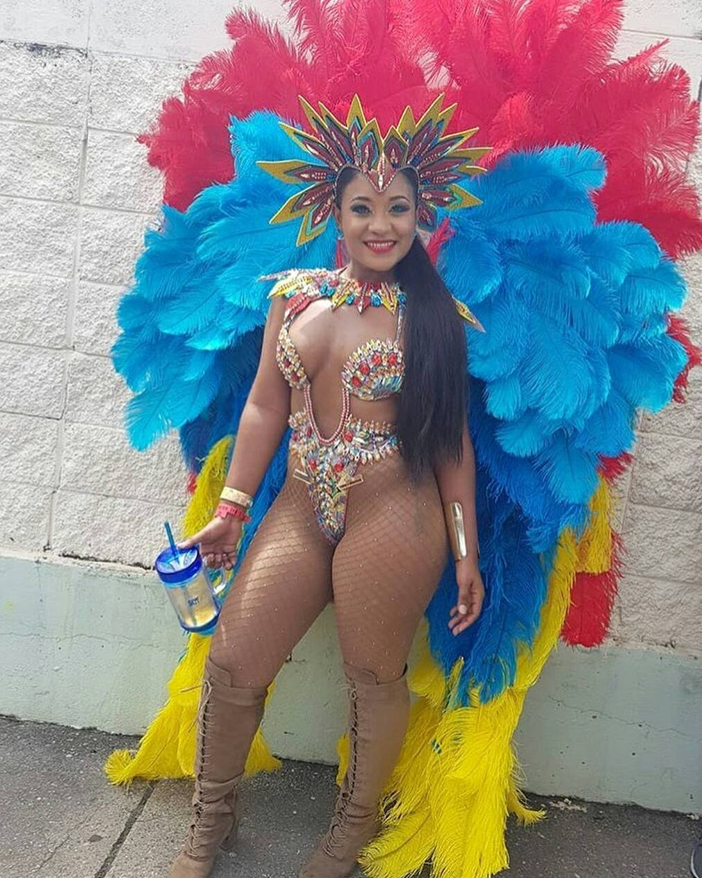 blazing-hot-costumes-trinidad-tobago-carnival-see-nigerias-dj-cuppy-looking-sizzling-hot