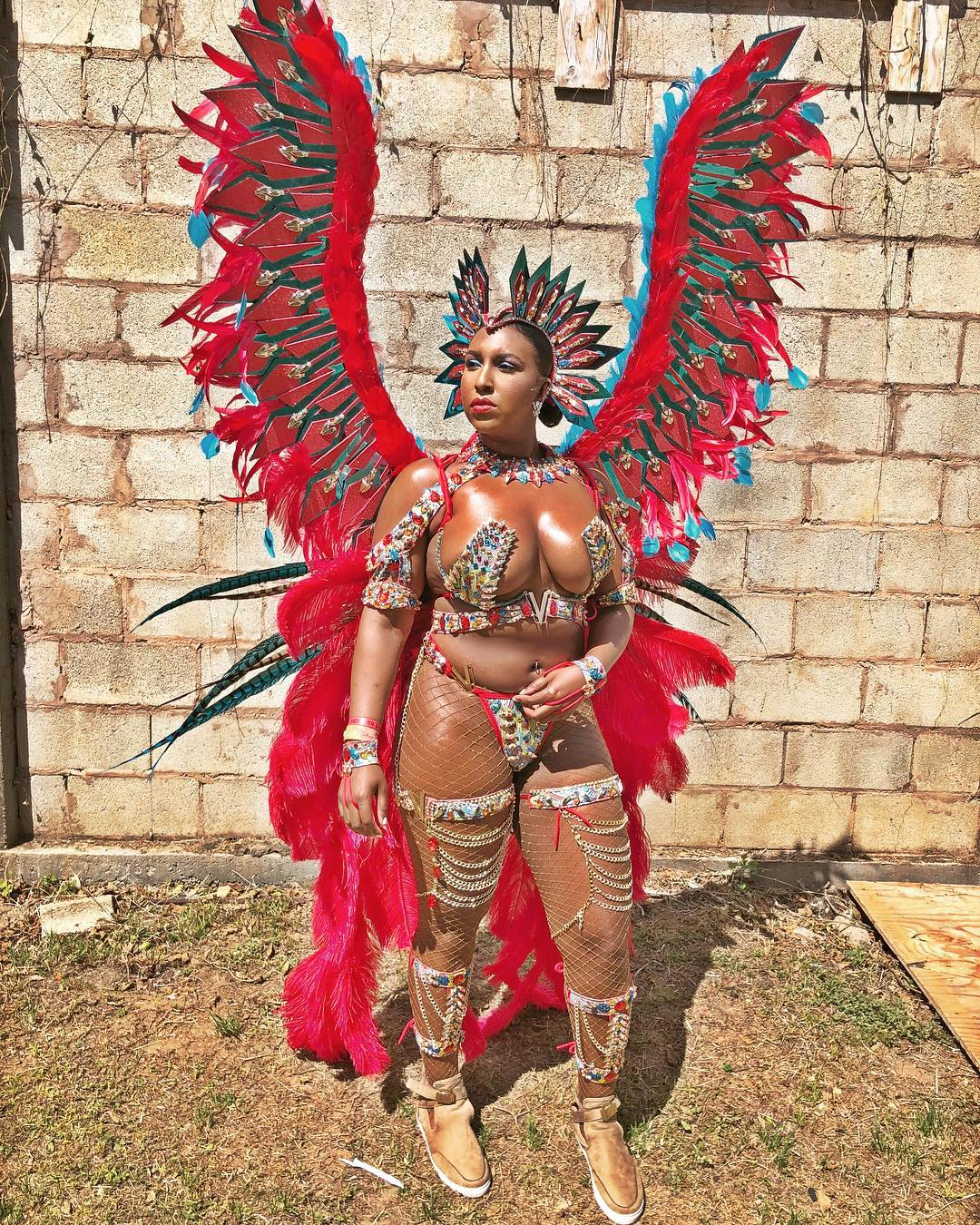 It S All About Blazing Hot Costumes At The Trinidad