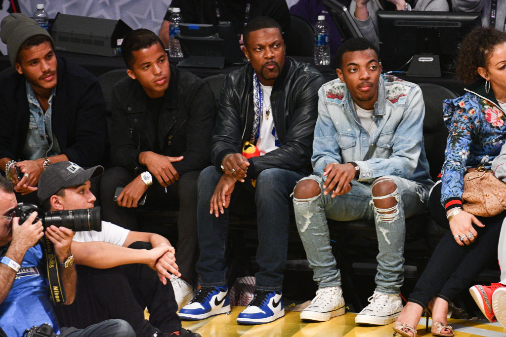 Celebrities At The 67th NBA All-Star Game: Team LeBron Vs ...