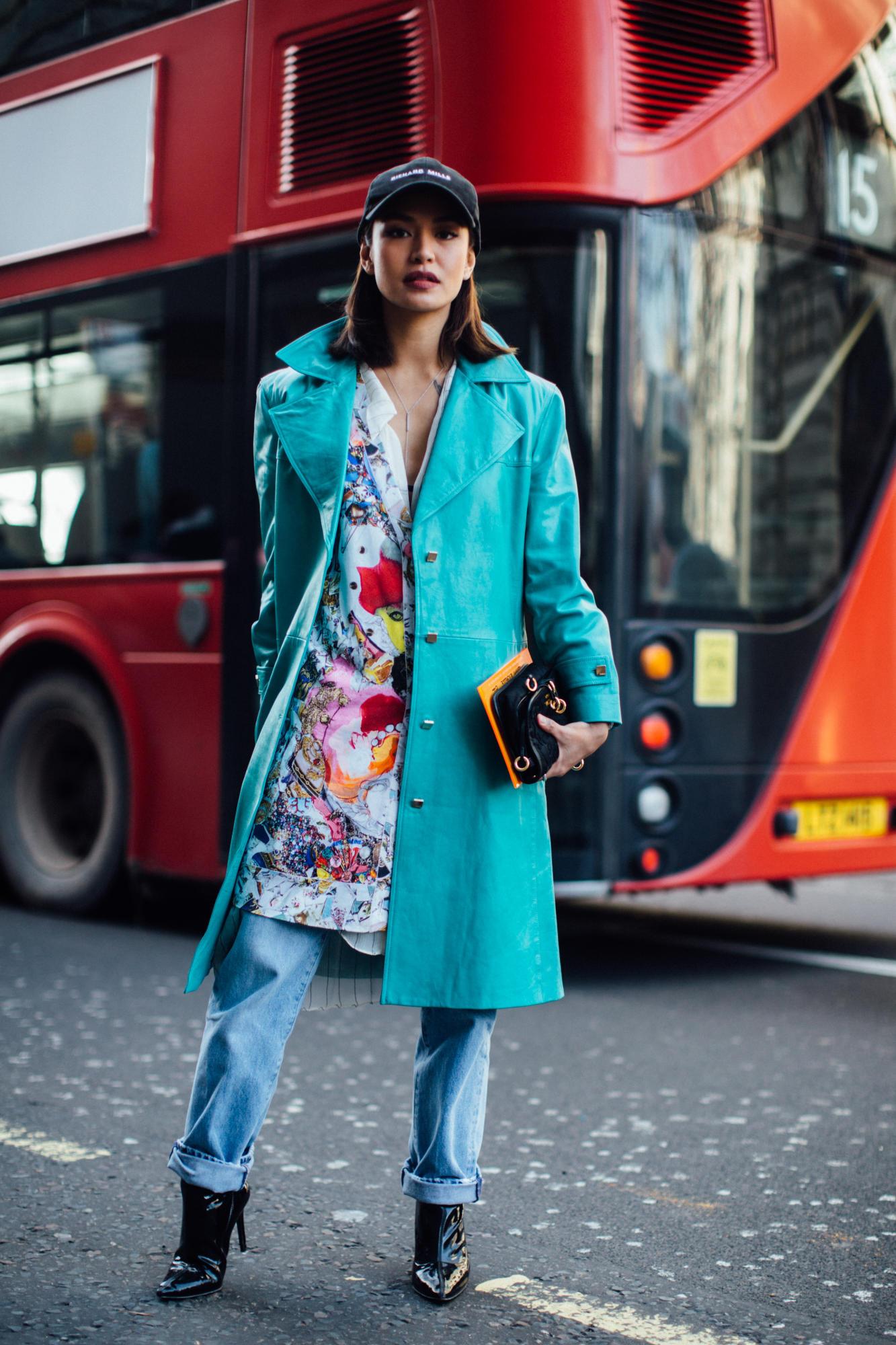 London Fashion Week Street Style Fall 2018 Day 1 29