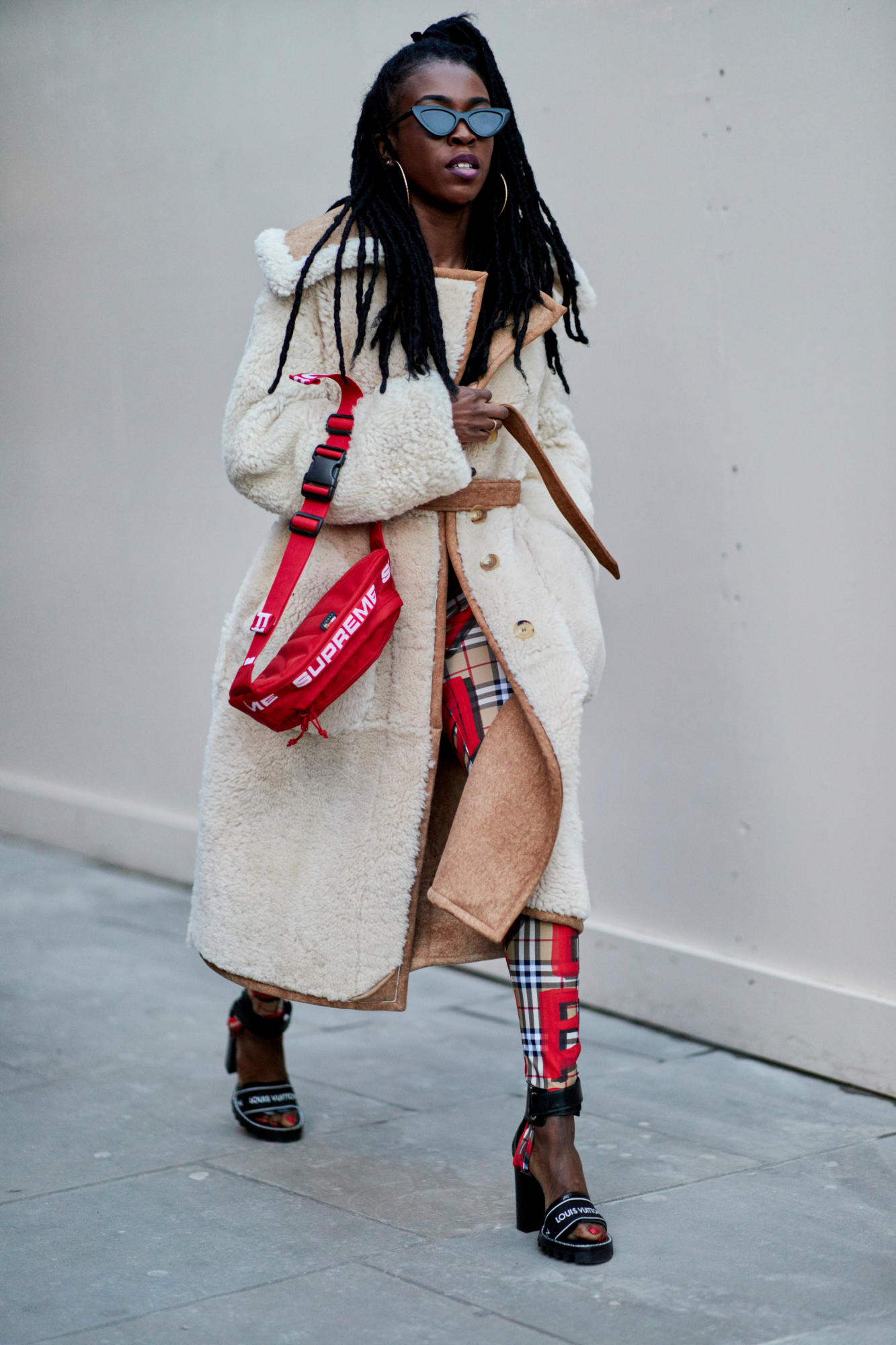 London Fashion Week Street Style Fall 2018 Day 2 77