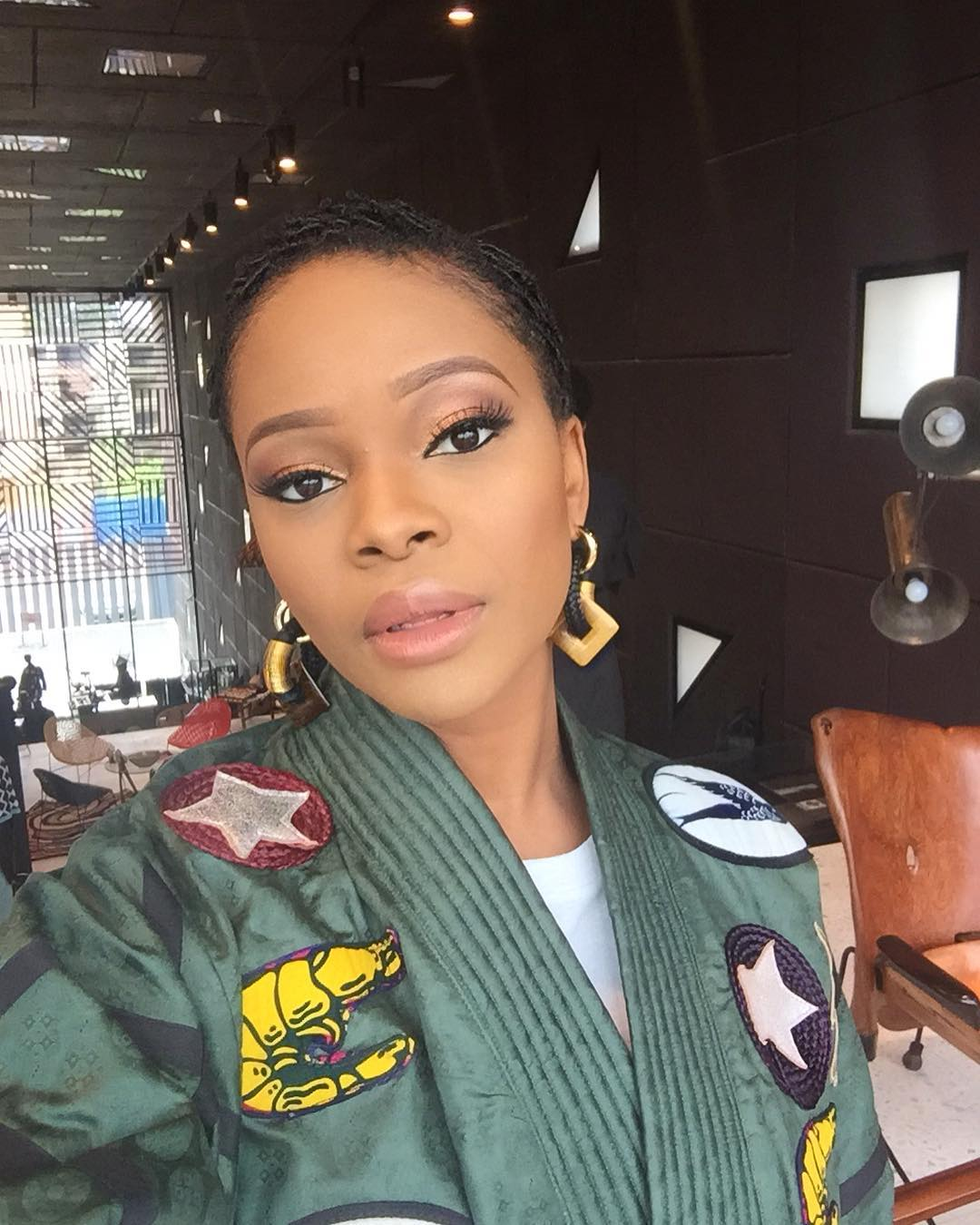 movie-star-zainab-balogun-delight-low-cut-hair