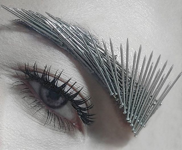 feisty-would-you-try-the-spiked-bold-nail-eyebrow-trend