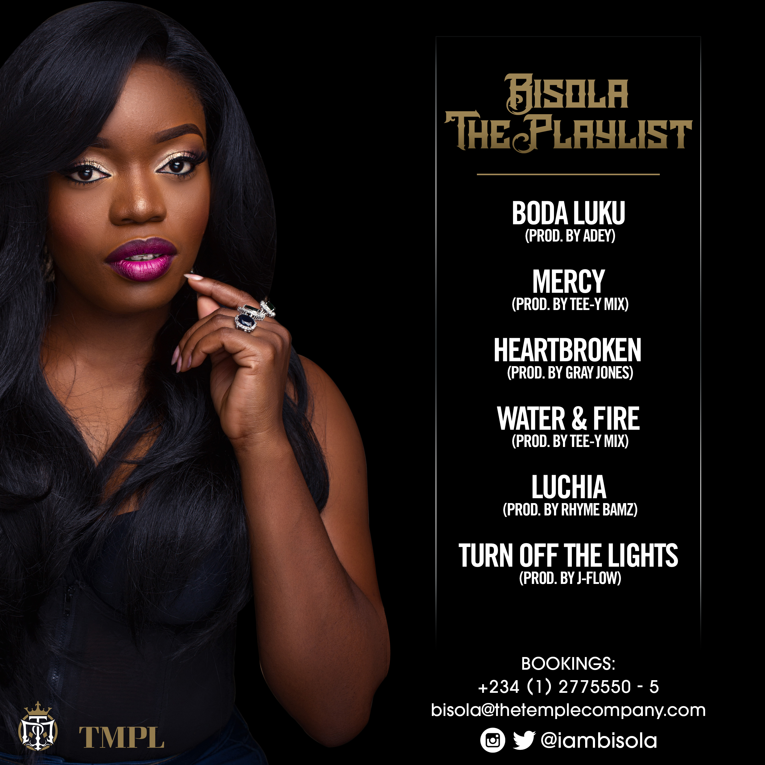 Bisola aiyeola the playlist ep style rave