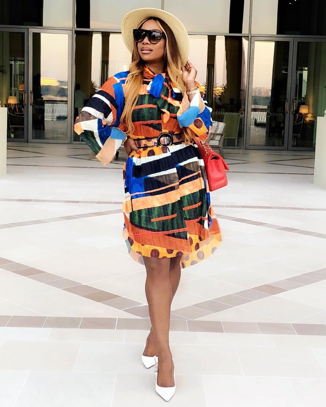 lovely dress of chioma ikokwu