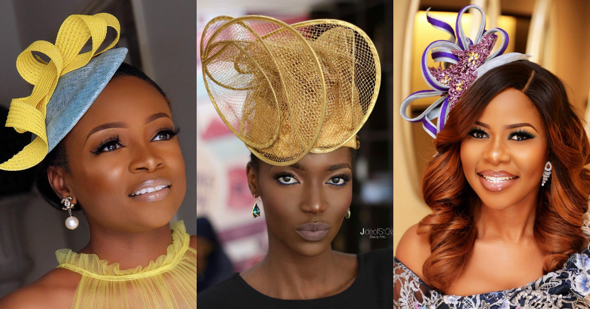 Fascinators Are At The Heart Of The Latest Nigerian Wedding Style - Style  Rave eb033716198