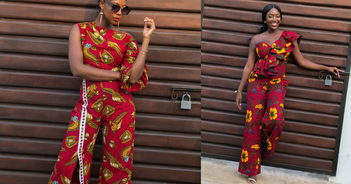c187bb95fb7 ANKARA Jumpsuits Are Undeniably The Latest IT Girl s Obsession - Style Rave