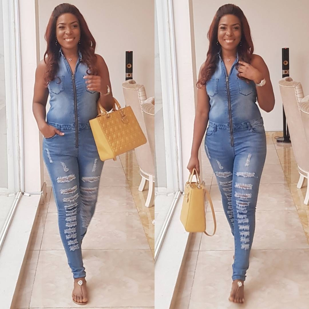 engaged-before-linda-ikeji-said-yes-to-her-beau-she-said-yes-to-denim-fever