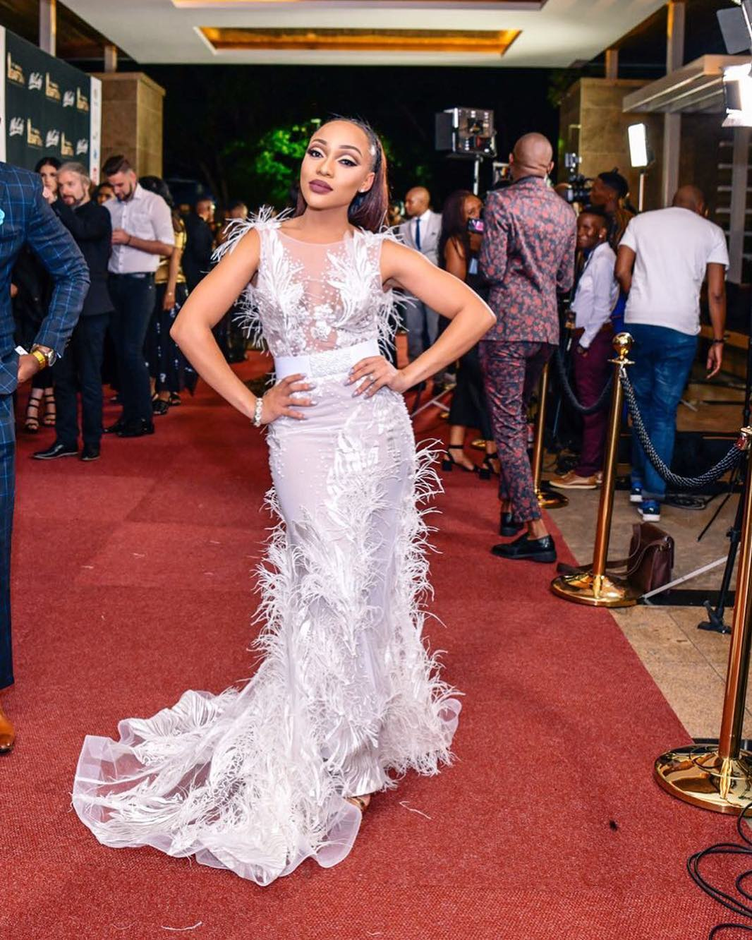 Rorisang Thandekiso And Others Deliver Glitz And Glamour