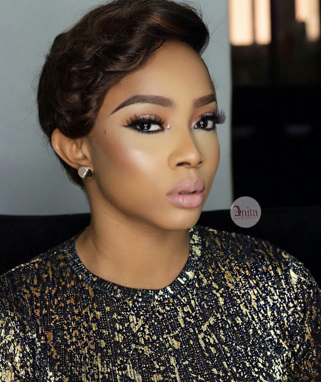 toke makinwa makeup artist