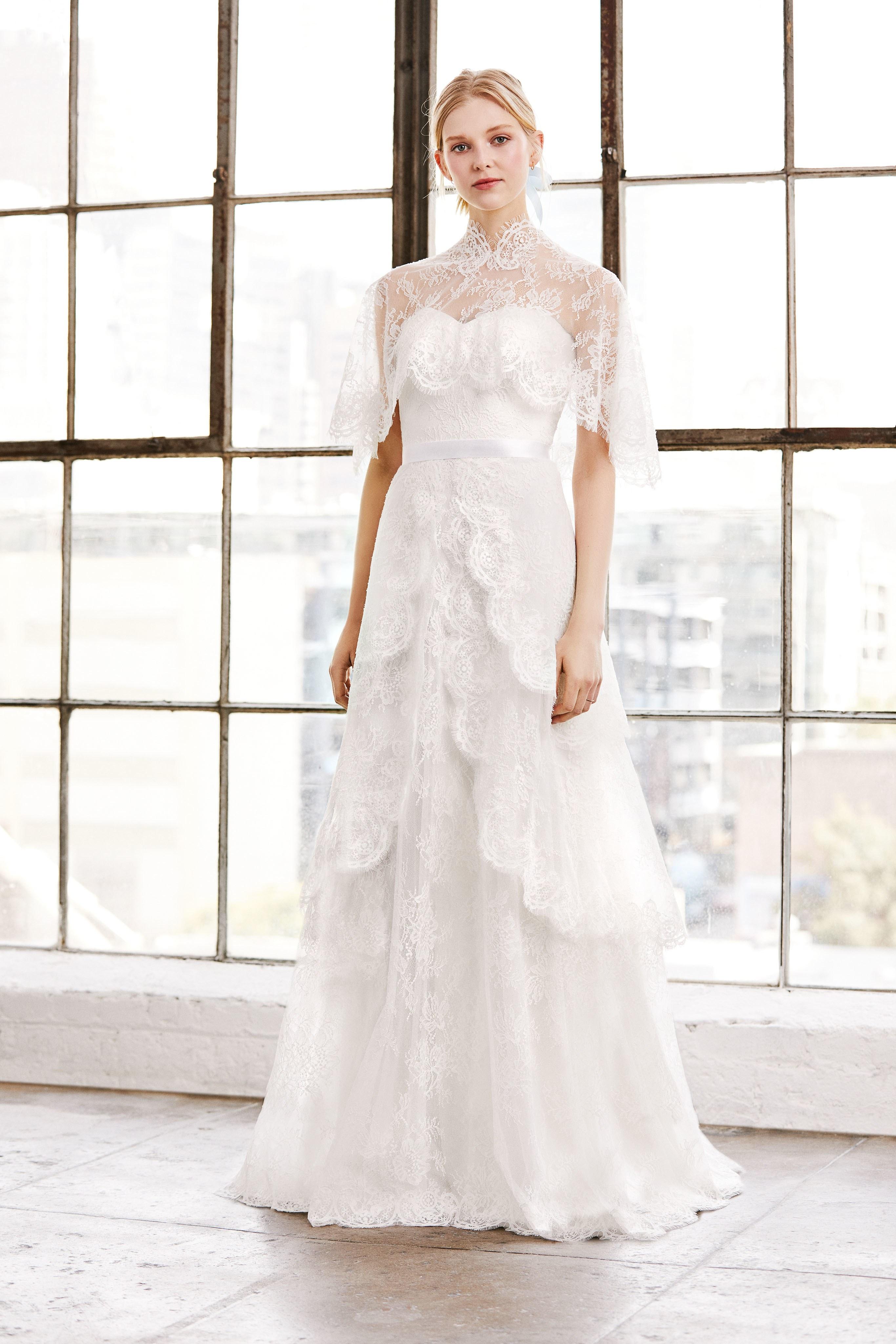 c496edf3e18 Pure Elegance! TADASHI SHOJI s Spring 2019 Wedding Collection Is A ...