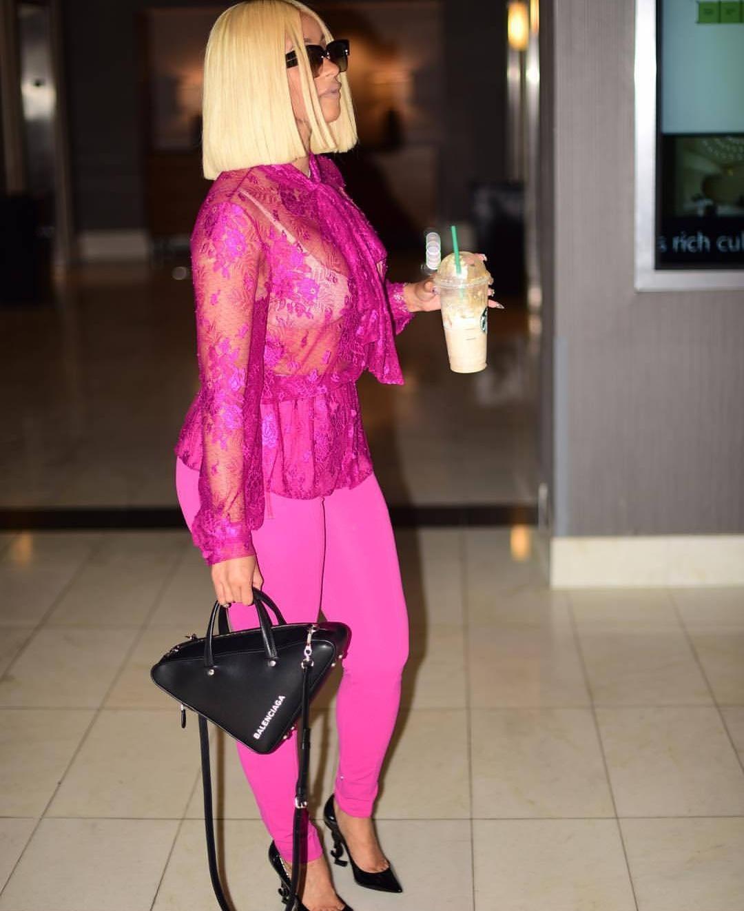 Balenciaga Triangle Pouch