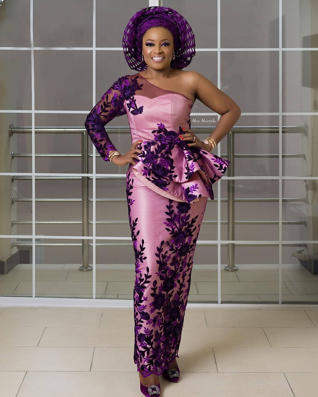 fc1b0831ab251 LADIES! Check Out These Beautiful Aso Ebi Peplum Tops That Would ...