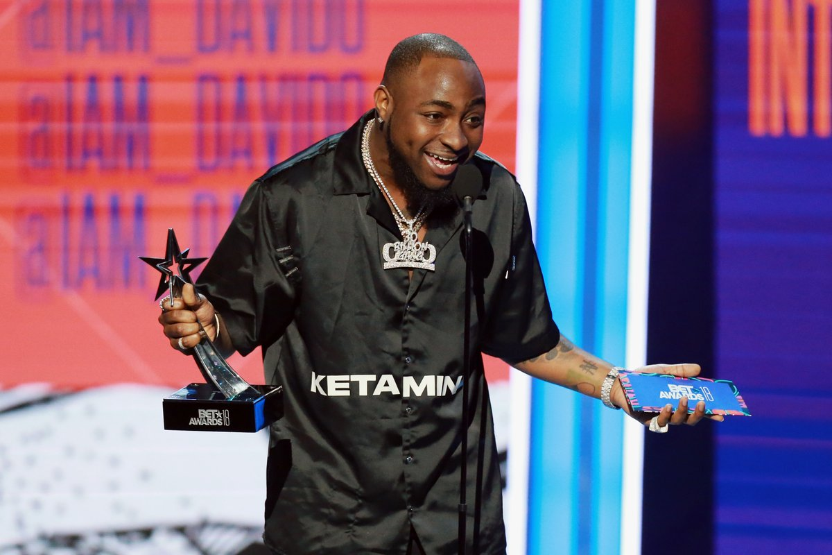 Davido BET Awards