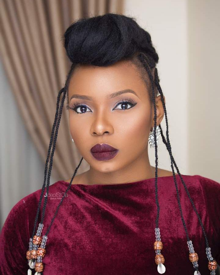 Yemi Alade S African Inspired Hairstyles Photos Fab Ng