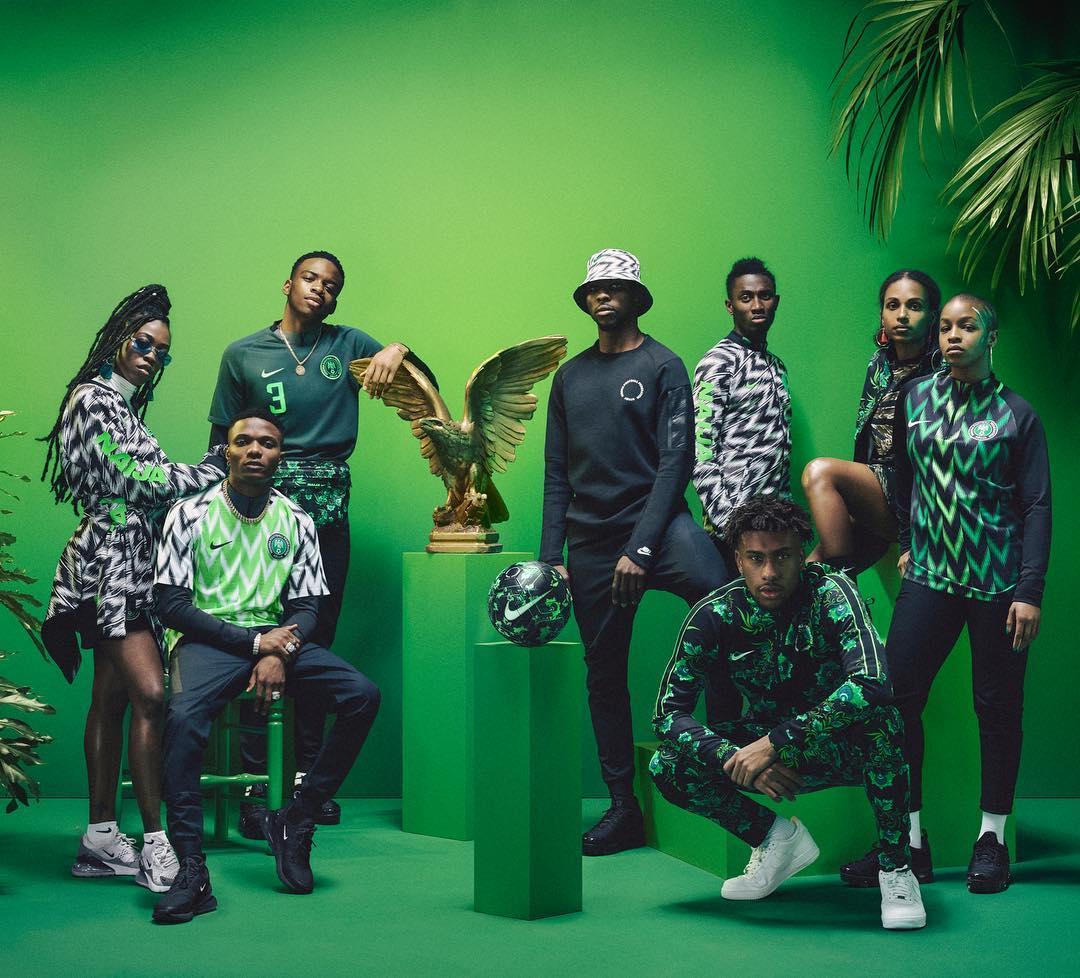 Nike Nigeria's World Cup Kit
