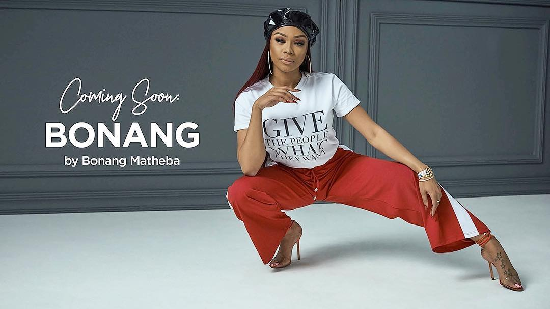 BONANG MATHEBA Is Giving The People What They Want With New T-Shirt Line