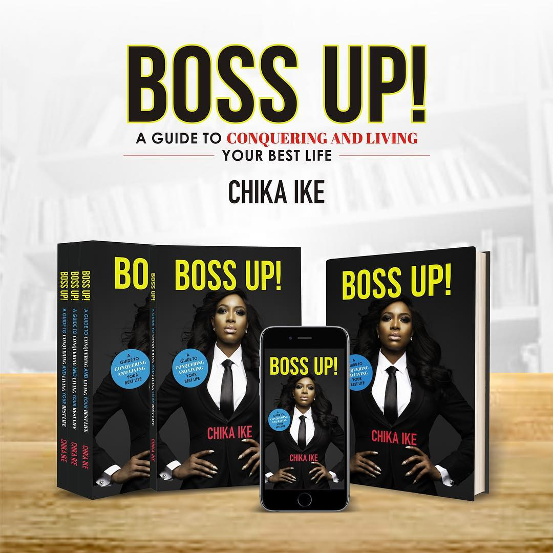 CHIKA IKE Wants You To 'Boss Up!' In Her New Self-Inspired Book