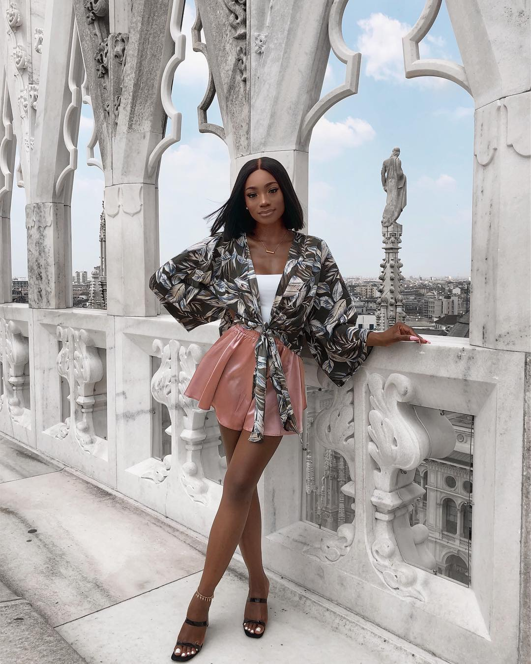 Nigerian YouTube Vlogger Est Are Gives Us Vacation Style Goals Every Day!