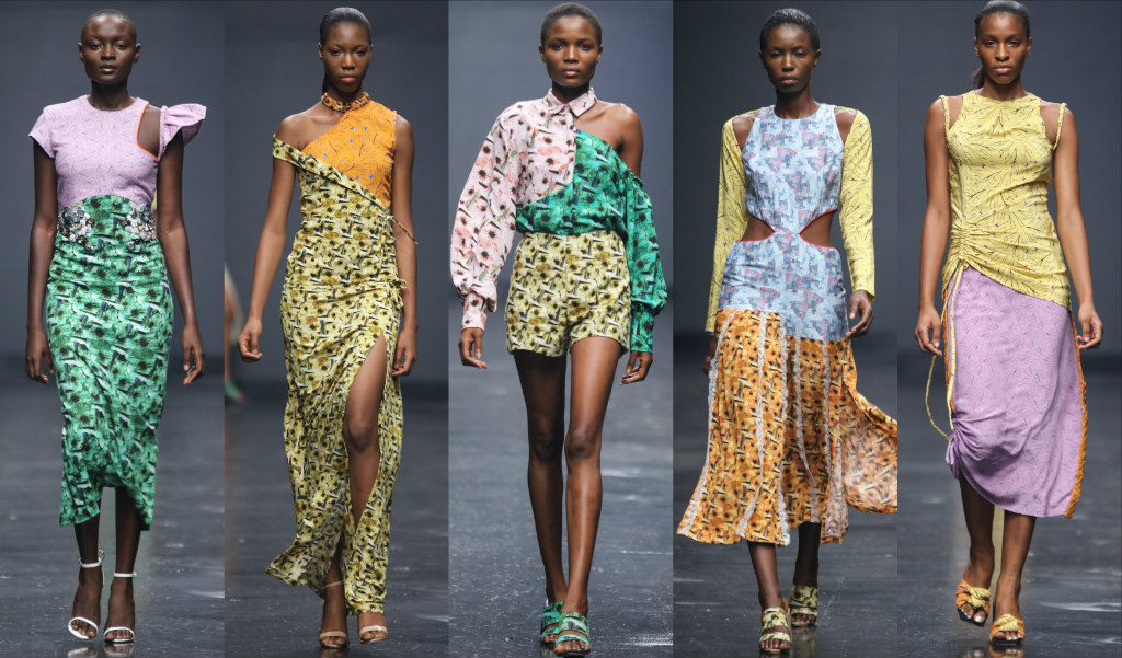 Lisa Folawiyo S Ss19 Collection Is An Interesting Clash Of Prints X Colours Hlfw18 Style Rave