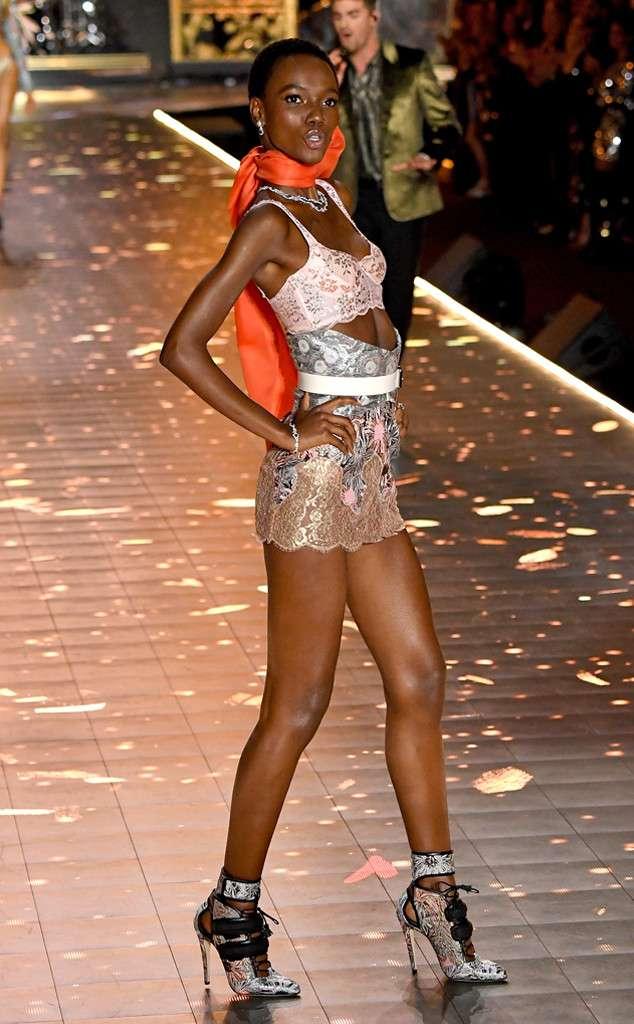 African models Victoria Secret