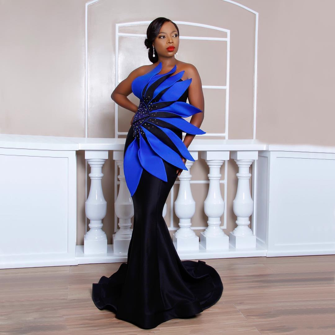 Media Girl LAYOLE OYATOGUN Is Letting Her Dresses Do All The Talking
