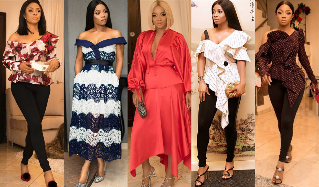 Ms Self-Portrait! 15 Times TOKE MAKINWA Wore The Brand In 2018 | Style Rave